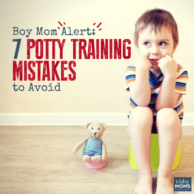 Boy Mom Alert: 7 Potty Training Mistakes to Avoid