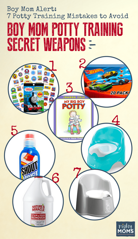 Potty Training Boys? Avoid These Mistakes! - MightyMoms.club - MightyMoms.club