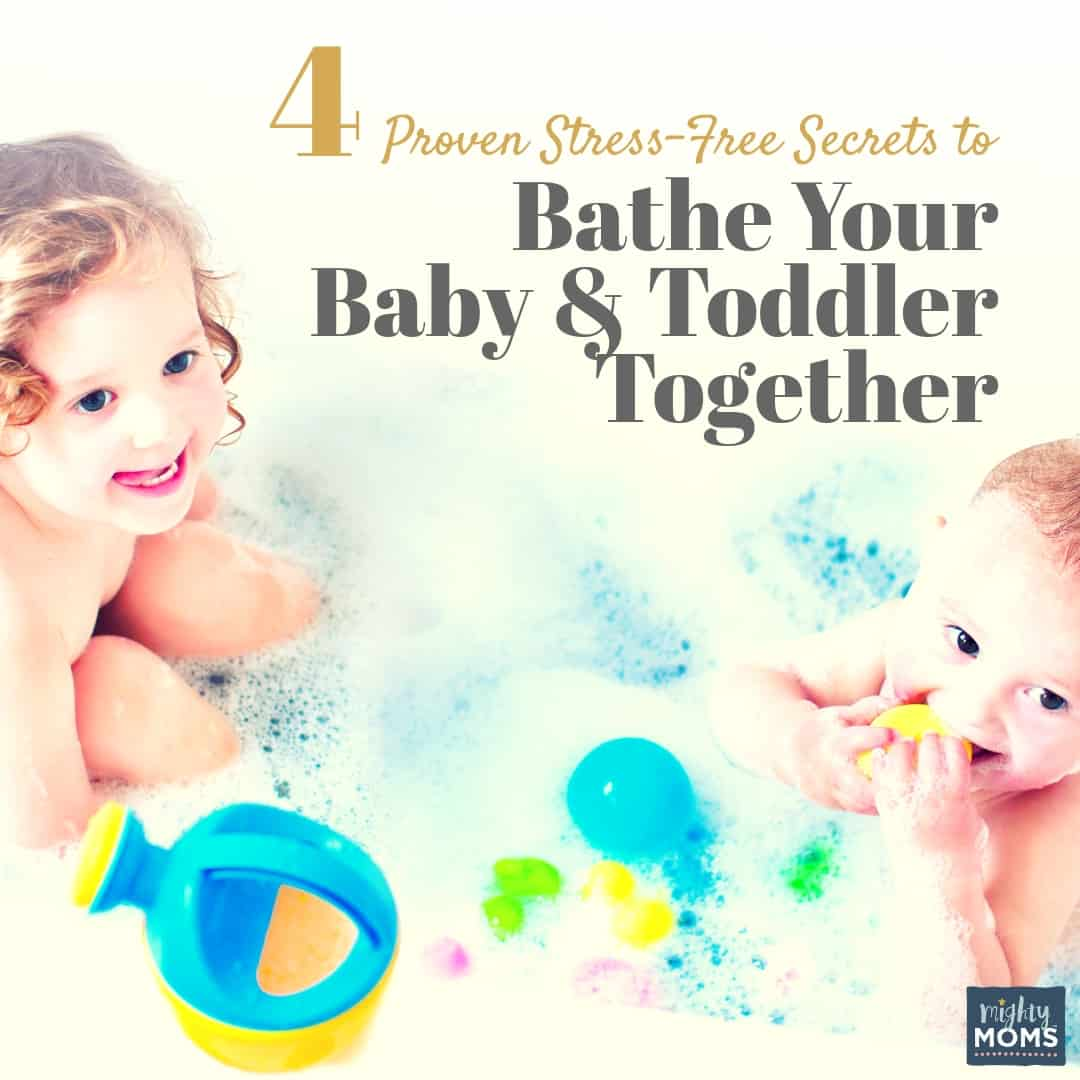 Bathe your baby and toddler at the same time! | MightyMoms.club