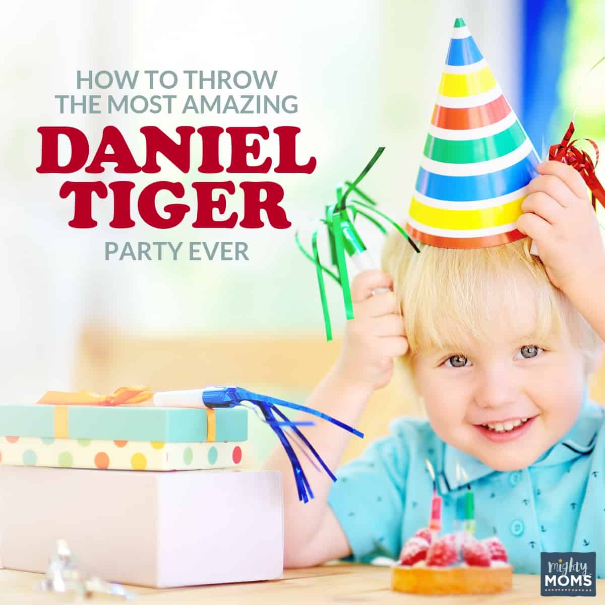 Awesome Daniel Tiger party ideas - MightyMoms.club