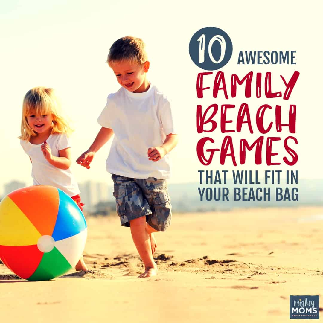 These family beach games are a blast! | MightyMoms.club