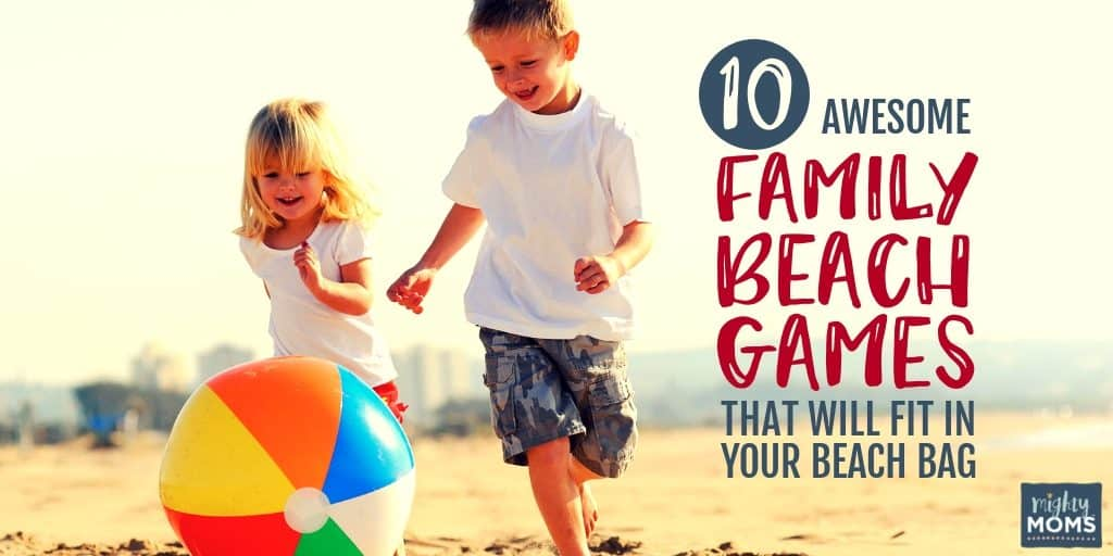 These family beach games are a blast!   MightyMoms.club