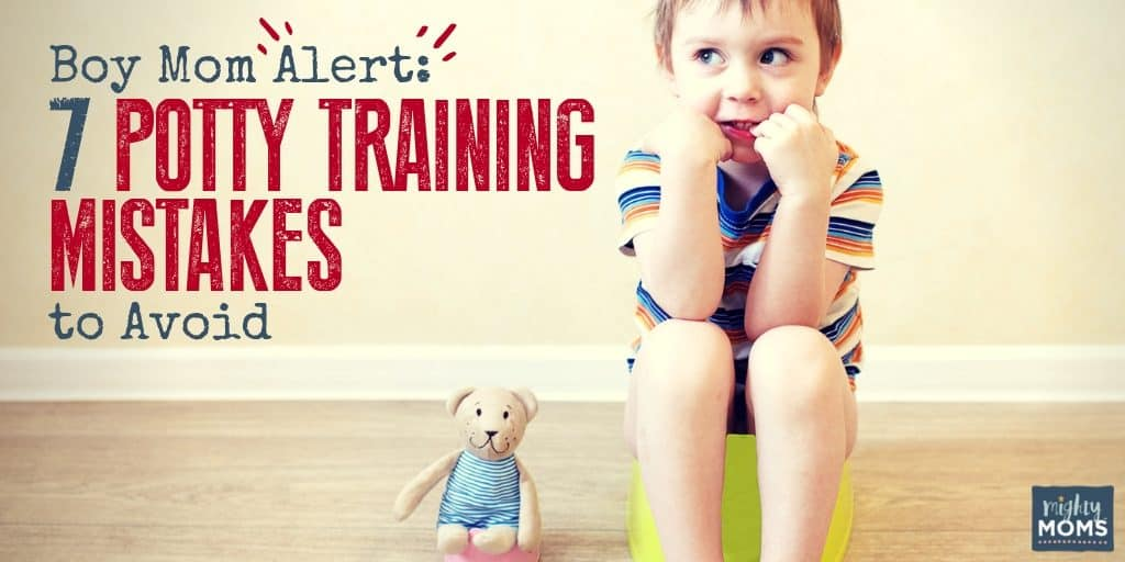 The secret to potty training boys is to avoid these mistakes. | MightyMoms.club