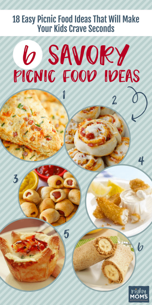 18 Easy Picnic Food Ideas That Will Make Your Kids Crave Seconds - MightyMoms.club