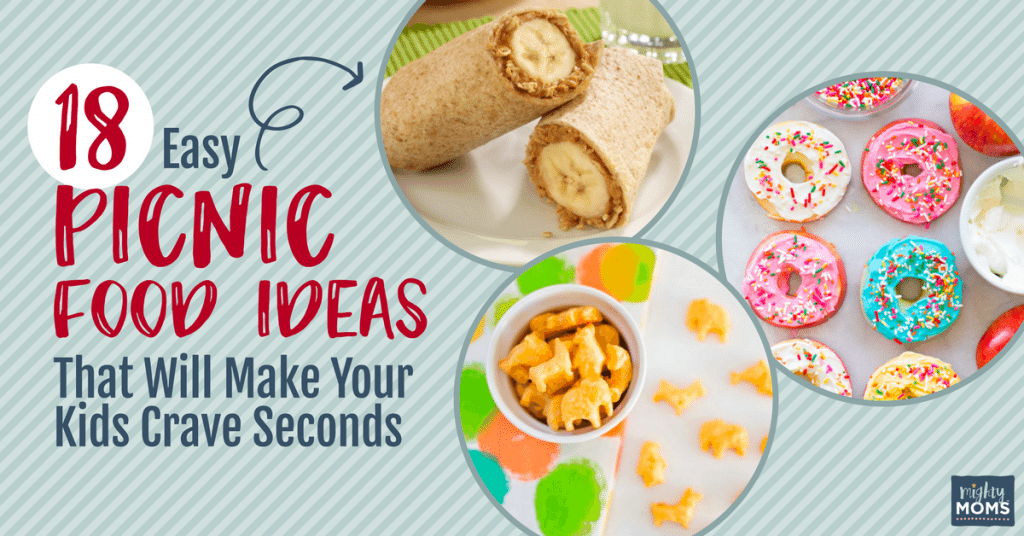 18 Easy Picnic Food Ideas That Will Make Your Kids Crave