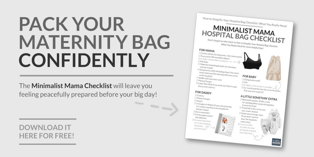 Get Your Free Hospital Bag Checklist! - MightyMoms.club