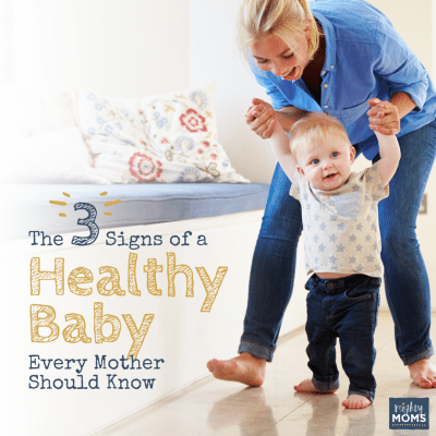 The 3 Signs of a Healthy Baby Every Mother Should Know