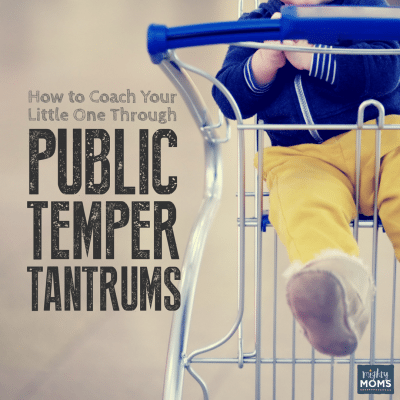 How to Coach Your Little One Through Public Temper Tantrums
