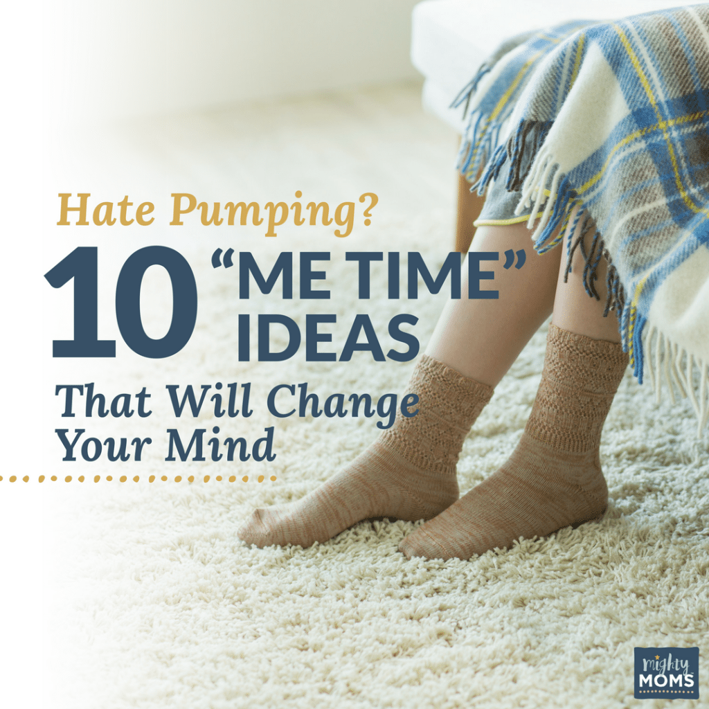 """Hate Pumping? 10 """"Me Time"""" Ideas That Will Change Your Mind"""