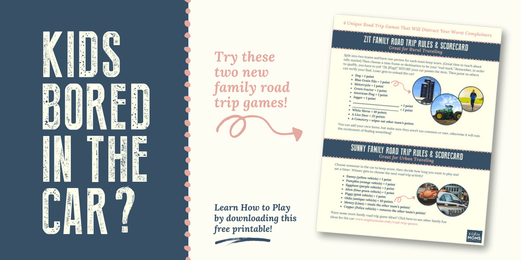 Family Road Trip Games Printable - MightyMoms.club