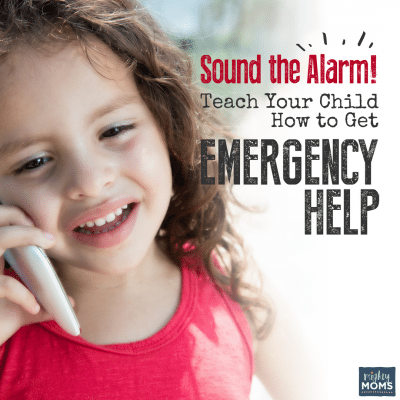 Sound the Alarm! Teach Your Child How to Get Emergency Help