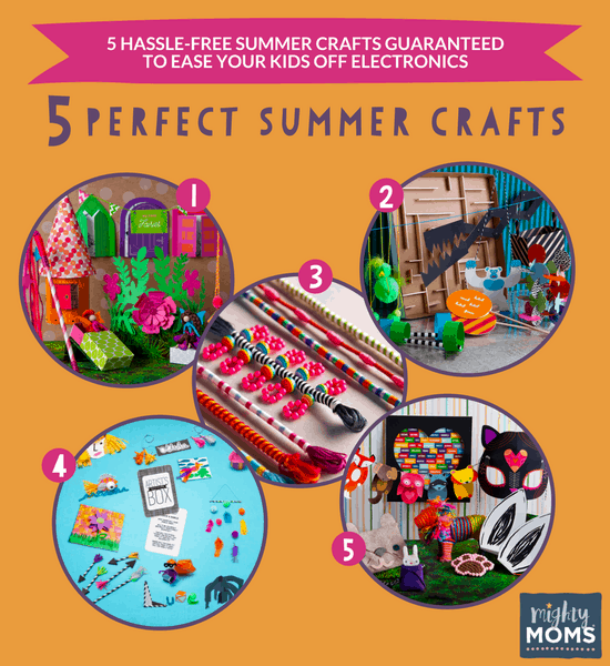 5 Perfect Summer Crafts to Fight Boredom - MightyMoms.club