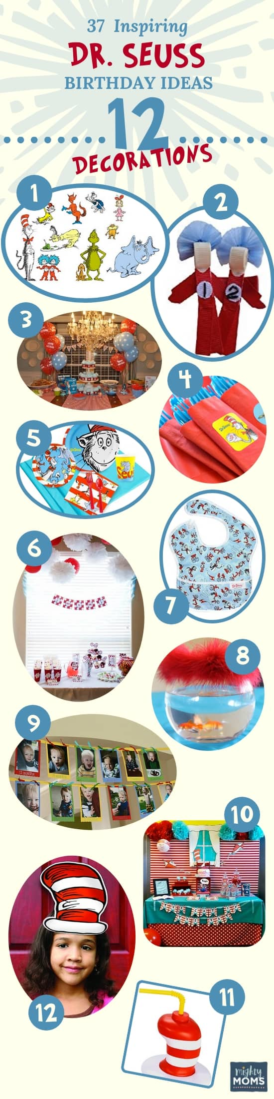 Decorations: 37 Inspiring Dr. Seuss Party Birthday Ideas for the Most Fantastic Party in Whoville - Mightymoms.club
