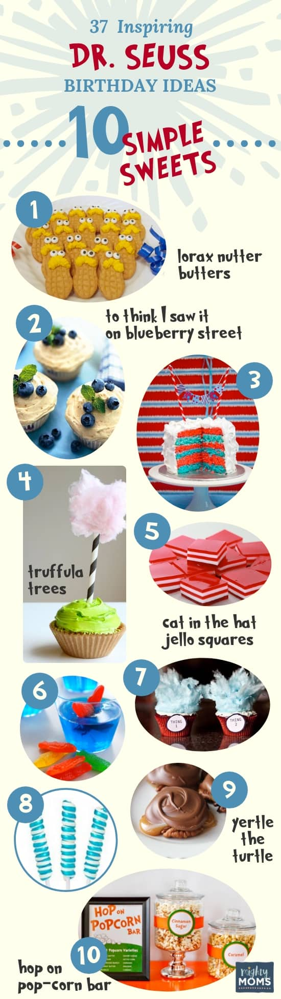 Sweets: 37 Inspiring Dr. Seuss Ideas for the Most Fantastic Party in Whoville - Mightymoms.club