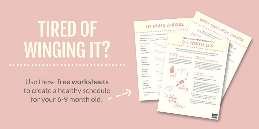 New Parent? This Strong 6 Month Old Schedule Can Really Help