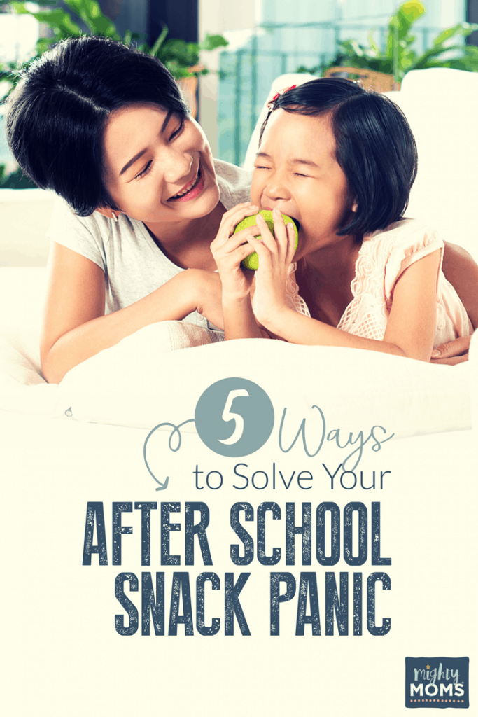 5 Ways to Solve Your After School Snack Panic - MightyMoms.club
