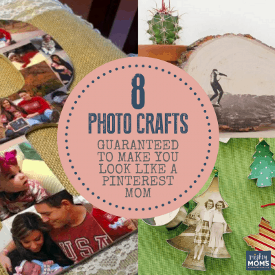 8 Photo Crafts Guaranteed to Make You Look Like a Pinterest Mom