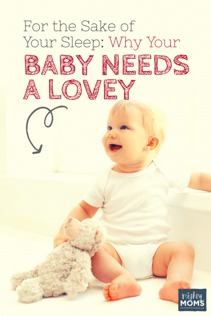 For the Sake of Your Sleep: Why Your Baby Needs a Lovey - MightyMoms.club