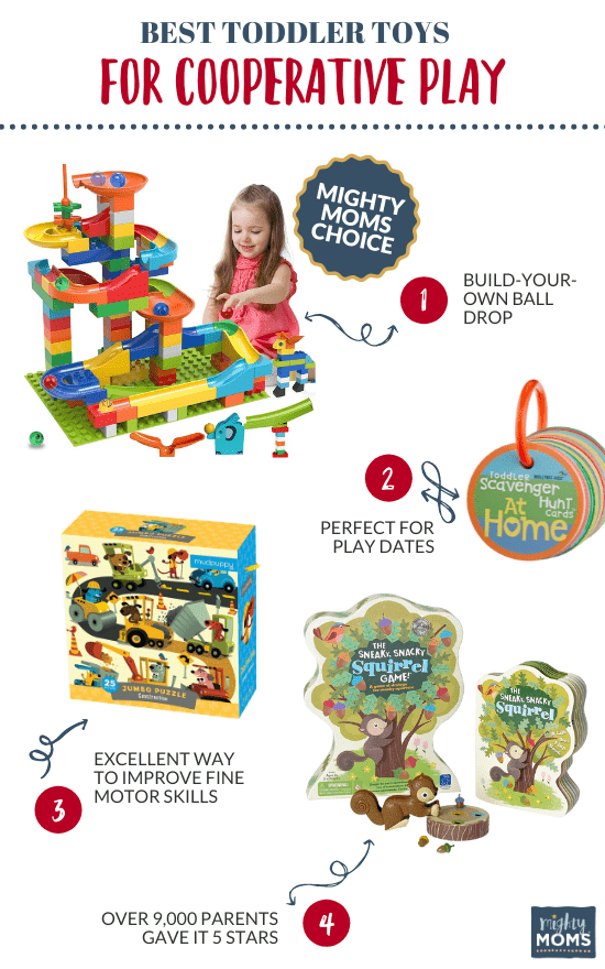 Best Toddler Toys for Cooperative Play - MightyMoms.club