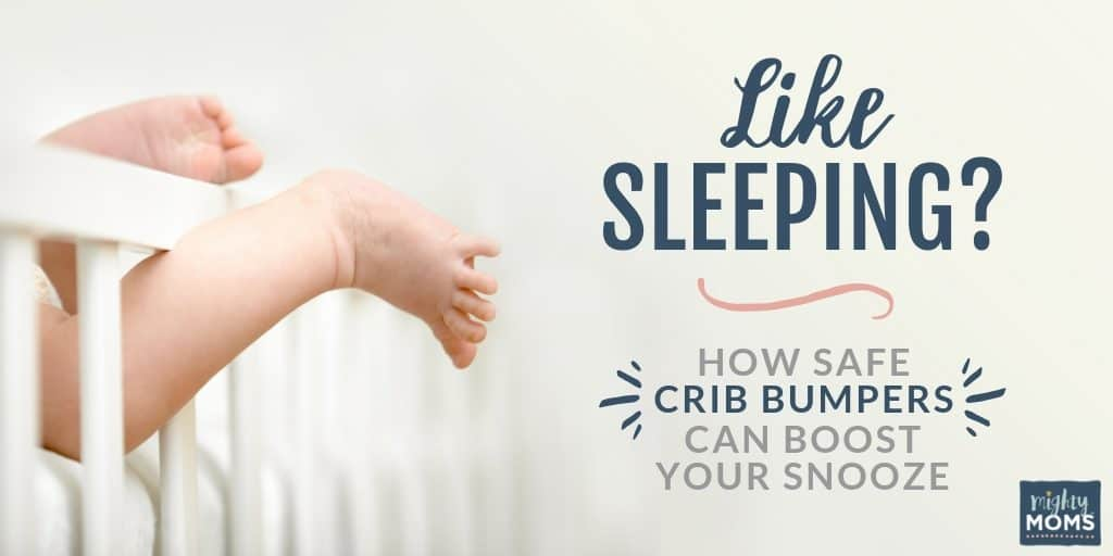 These safe crib bumpers can be a huge help! | MightyMoms.club