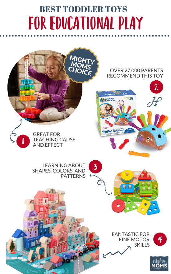 Best Toddler Toys for Educational Play - MightyMoms.club