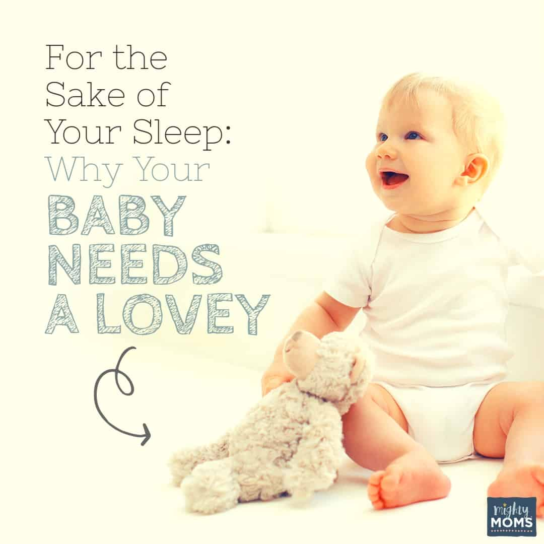 Learn what a big impact a baby lovey has on your child's sleep! | MightyMoms.club