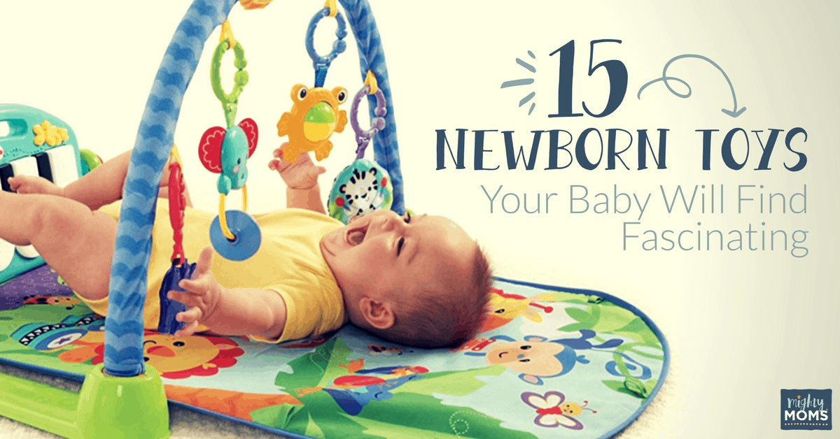15 Newborn Toys Your Baby Will Find Fascinating The Mighty Moms Club