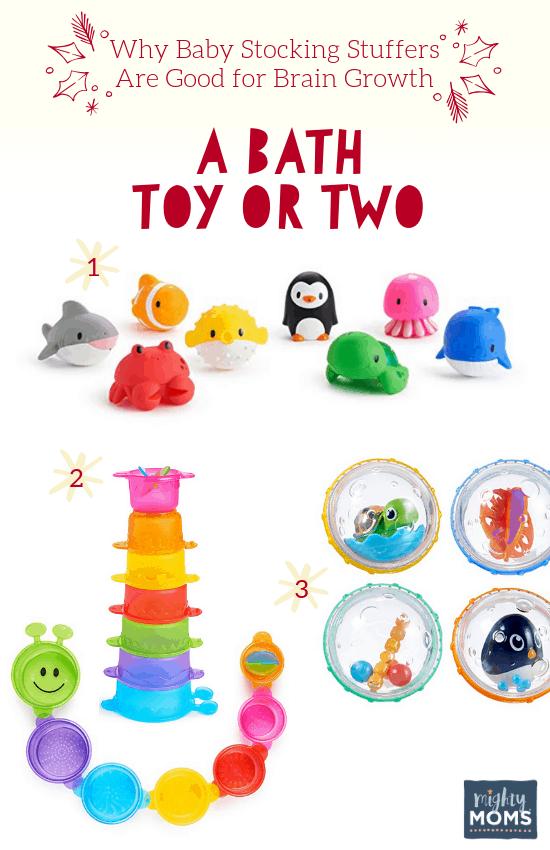 Smart Baby Stocking Stuffers: Bath Toys - MightyMoms.club
