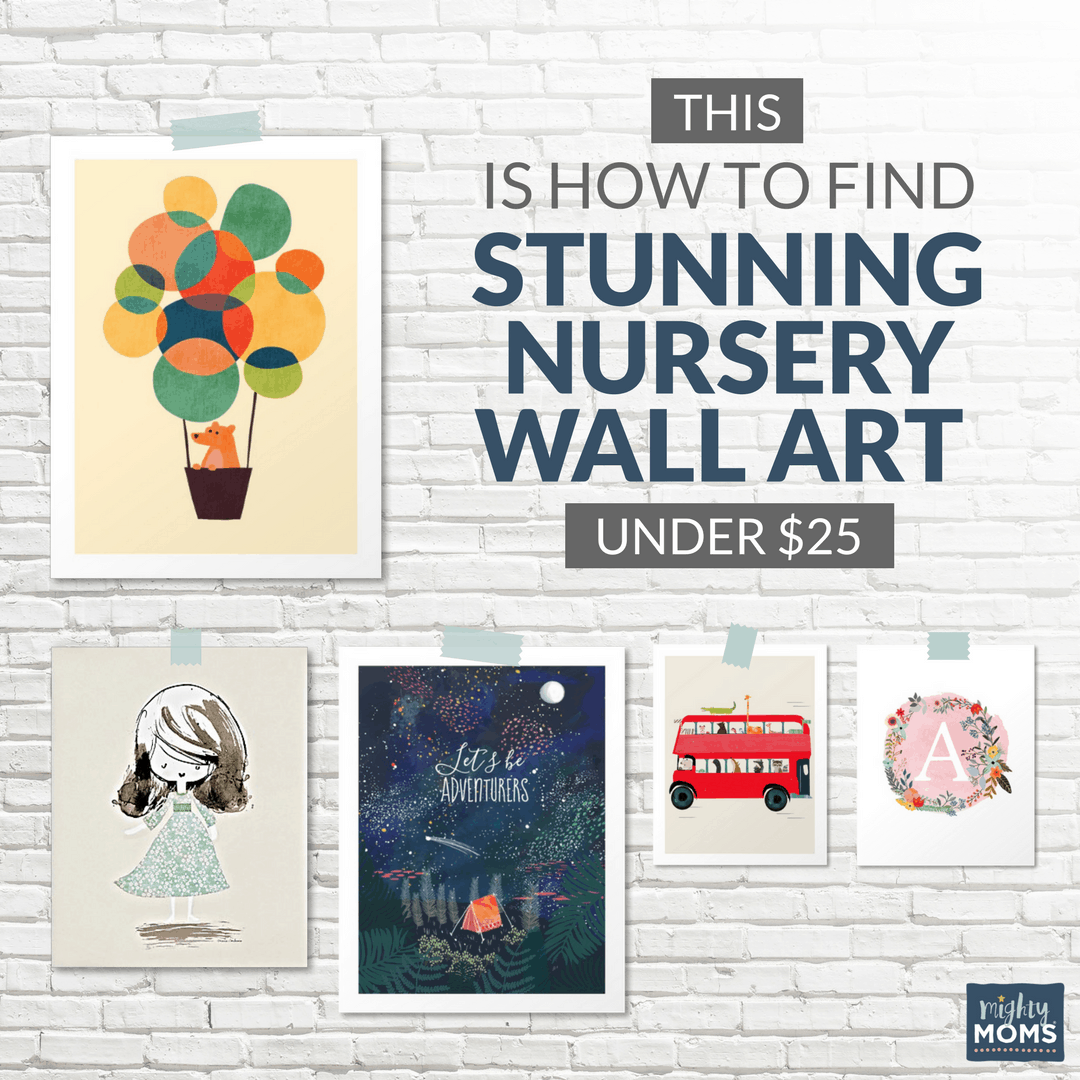 This is How to Find Stunning Nursery Wall Art for Under $25 - MightyMoms.club