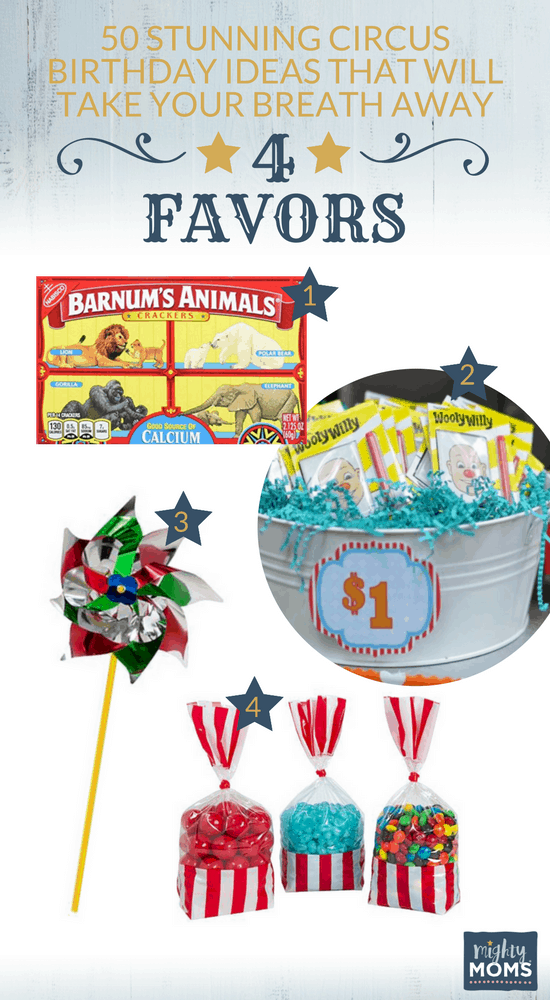 50 Stunning Circus Birthday Ideas That will Take Your Breath Away - MightyMoms.club