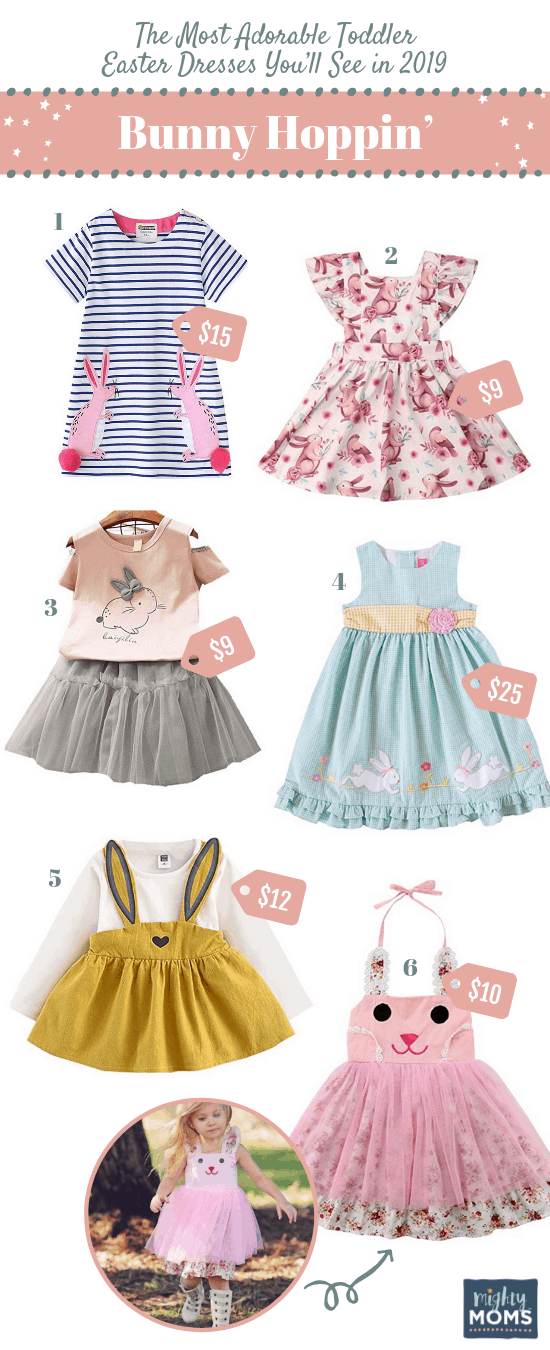 Bunny Hoppin' Toddler Easter Dresses - MightyMoms.club