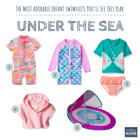 Infant Swimsuits: Under the Sea Collection - MightyMoms.club