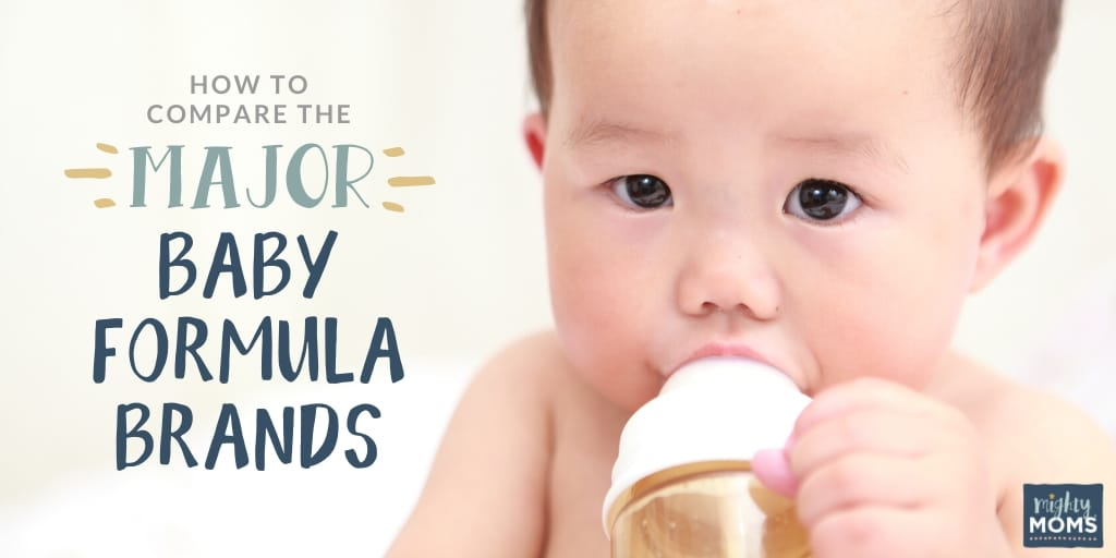 How to Compare the Major Baby Formula Brands