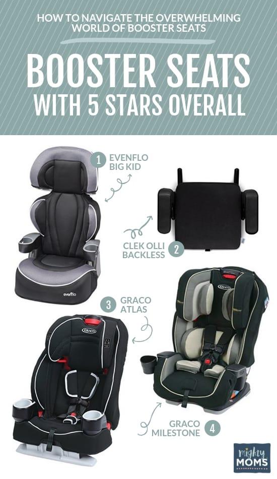 The nitty gritty on booster seats. | MightyMoms.club