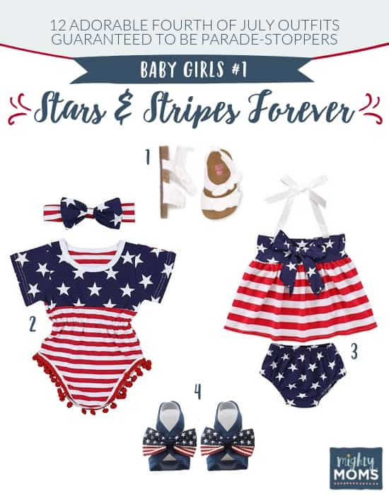 Fourth of July Outfits for Baby Girls #1 - MightyMoms.club