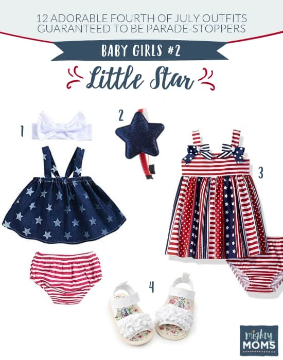 Fourth of July Outfits for Baby Girls #2 - MightyMoms.club