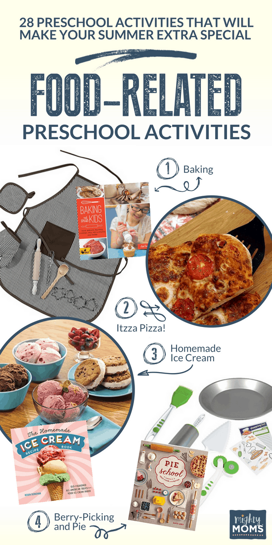 Summer Preschool Activities with Food - MightyMoms.club