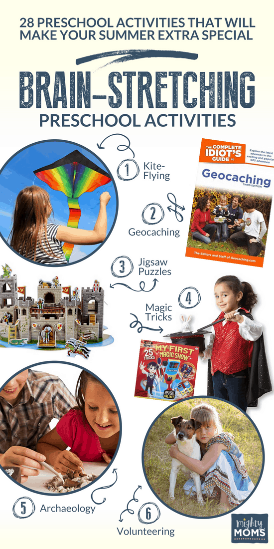Brain-Stretching Summer Preschool Activities - MightyMoms.club