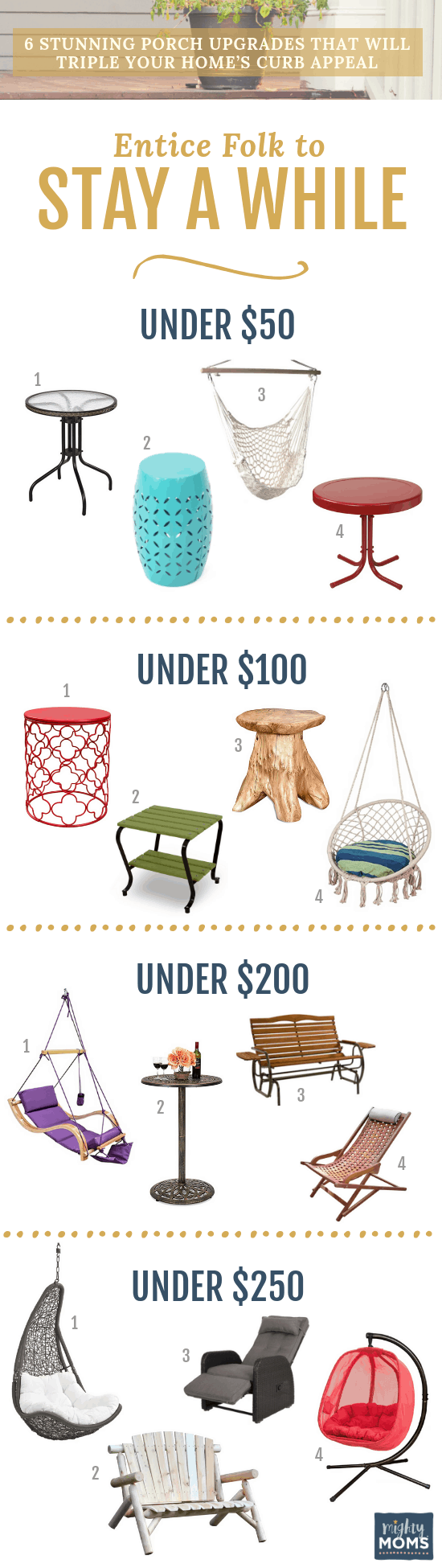 Increase Your Curb Appeal with Furniture - MightyMoms.club