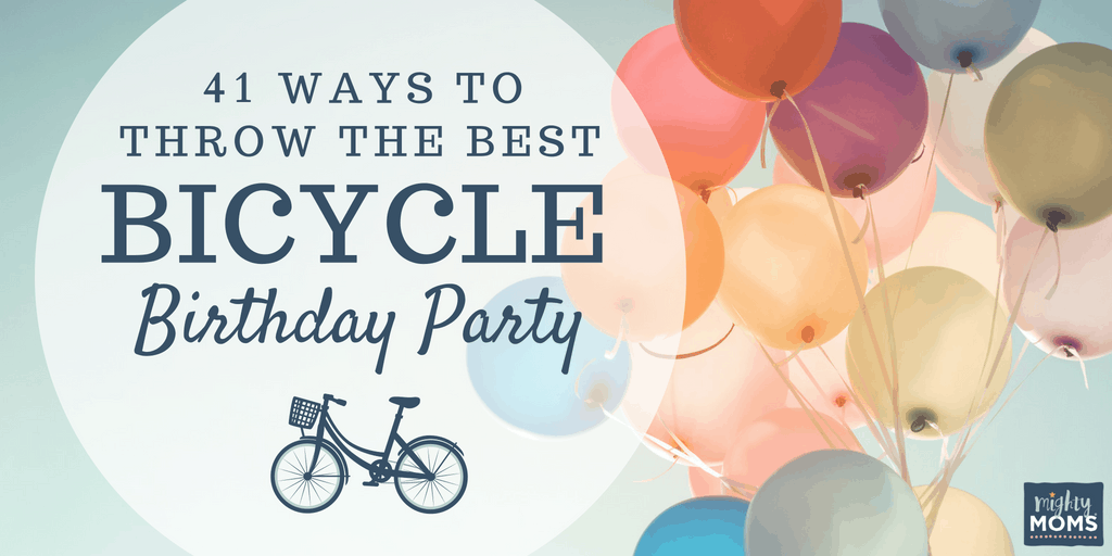 41 Ideas for the Best Bicycle Birthday Party - MightyMoms.club