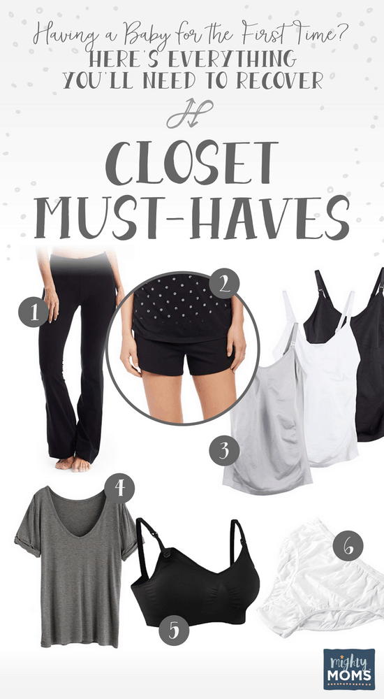 Having a Baby? Stock Your Closet