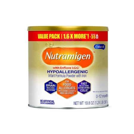 baby formula allergy symptoms - nutramigin