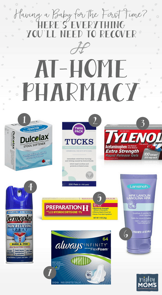 Set Up Your Postpartum Recovery Pharmacy - MightyMoms.club