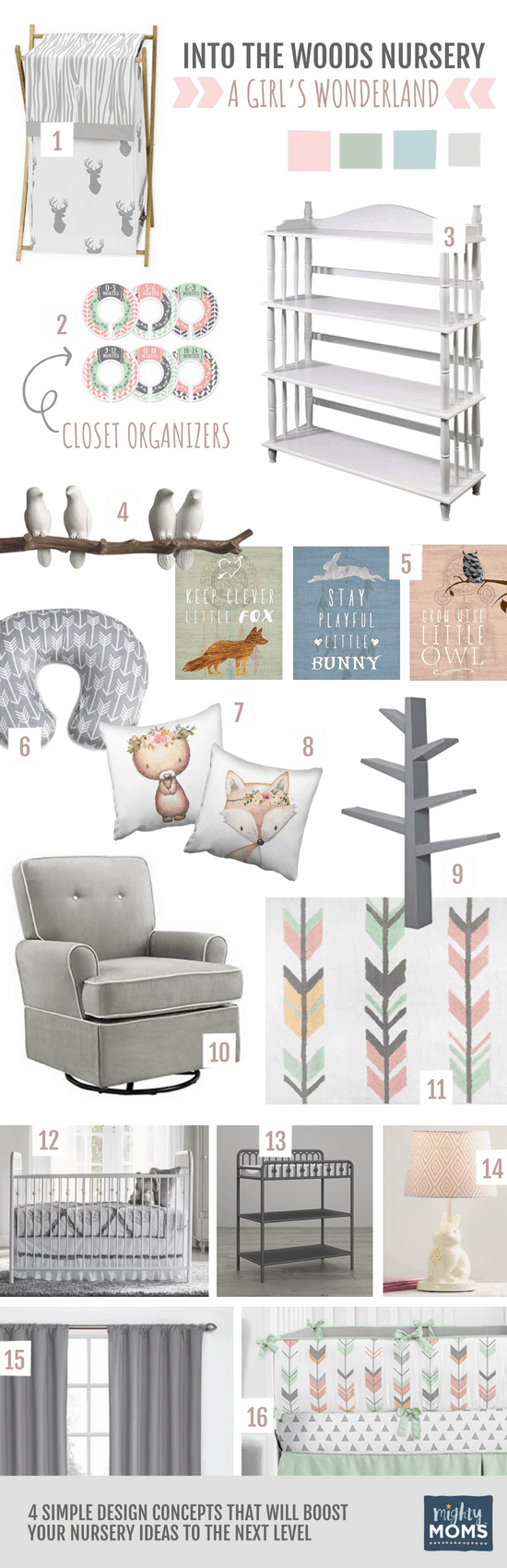 Woodland Nursery Ideas for a Girl - MightyMoms.club
