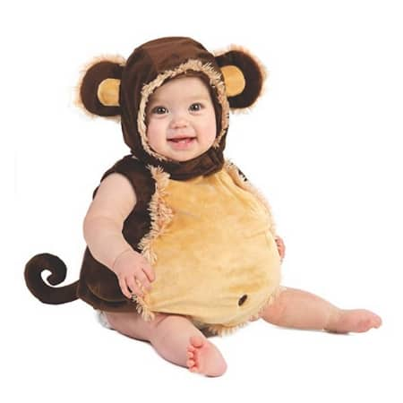 Baby Monkey Costume - MightyMoms.club