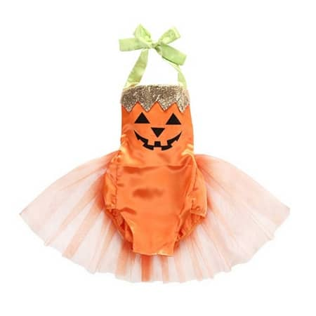 Baby Pumpkin Halloween Costume - MightyMoms.club