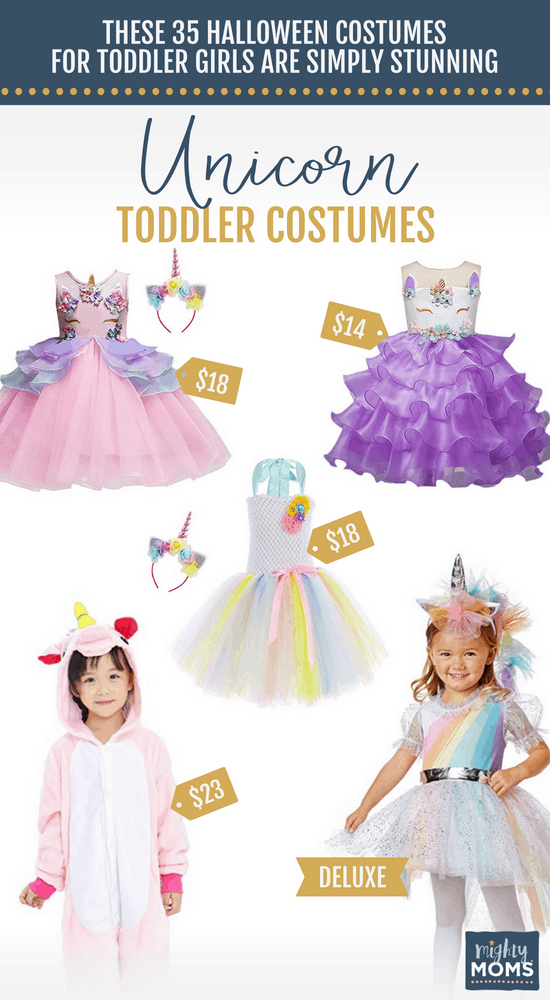 Unicorn Halloween Toddler Costumes - MightyMoms.club