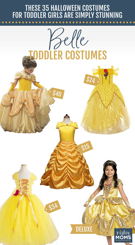 Belle Halloween Toddler Costumes - MightyMoms.club