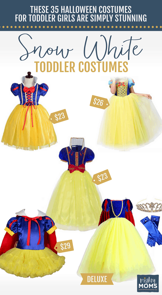 Snow White Halloween Toddler Costumes - MightyMoms.club
