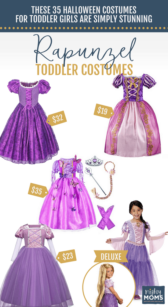 Rapunzel Halloween Toddler Costumes - MightyMoms.club